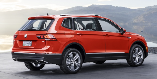 As With The Also New But Larger Atlas Tiguan Is Based On Volkswagen S Modular Transverse Matrix Mqb Platform Compared Second Generation