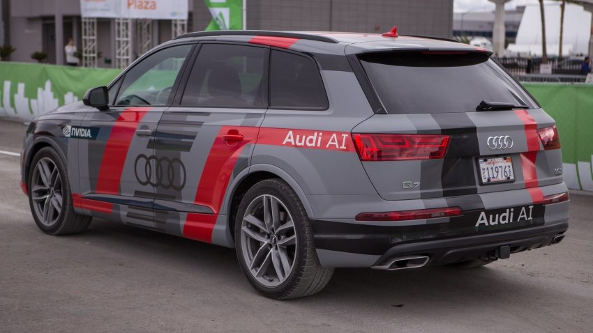 Audi to work with Nvidia on AI; new A8 to get Level 3 autonomous driving, next-gen Audi virtual cockpit Image #599192