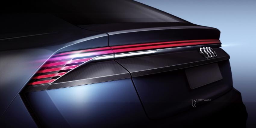 Audi Q8 concept debuts in Detroit – 448 hp plug-in hybrid, 0-100 km/h in 5.4 seconds, 1,000 km range Image #601200
