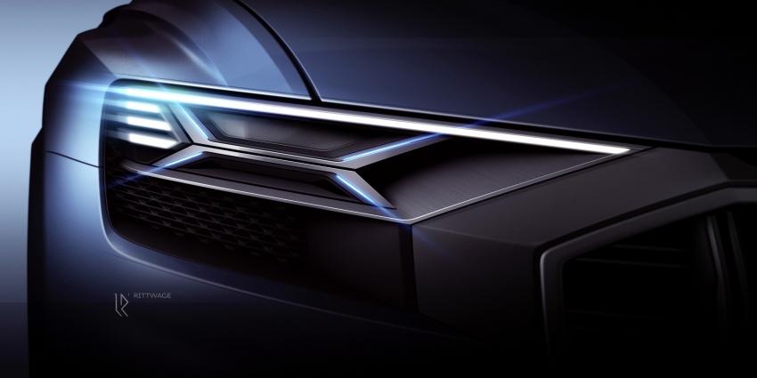 Audi Q8 concept debuts in Detroit – 448 hp plug-in hybrid, 0-100 km/h in 5.4 seconds, 1,000 km range Image #601216