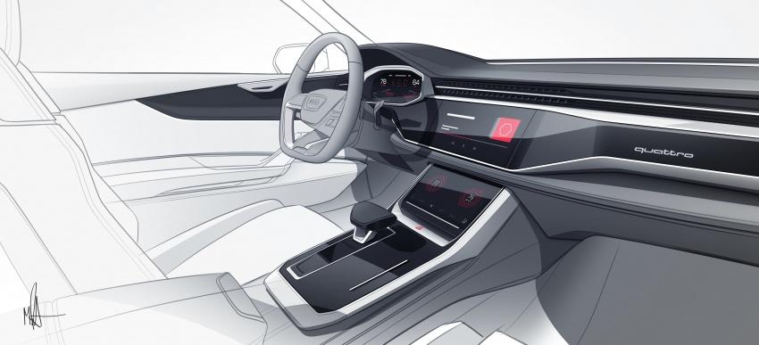 Audi Q8 concept debuts in Detroit – 448 hp plug-in hybrid, 0-100 km/h in 5.4 seconds, 1,000 km range Image #601221