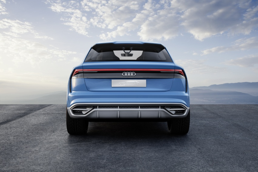 Audi Q8 concept debuts in Detroit – 448 hp plug-in hybrid, 0-100 km/h in 5.4 seconds, 1,000 km range Image #601309