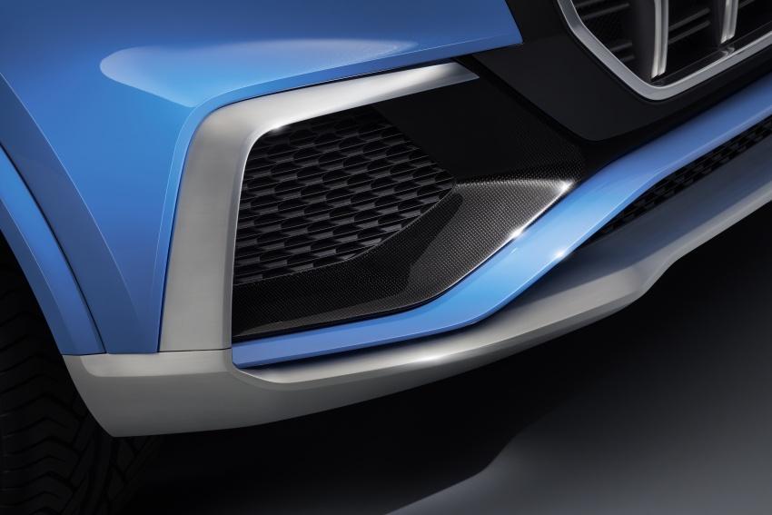 Audi Q8 concept debuts in Detroit – 448 hp plug-in hybrid, 0-100 km/h in 5.4 seconds, 1,000 km range Image #601361