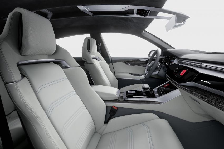 Audi Q8 concept debuts in Detroit – 448 hp plug-in hybrid, 0-100 km/h in 5.4 seconds, 1,000 km range Image #601370