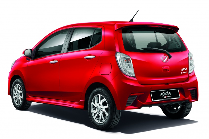 2017 Perodua Axia facelift officially launched – 1.0L VVT-i engine, two new faces and features, from RM25k Image #606677