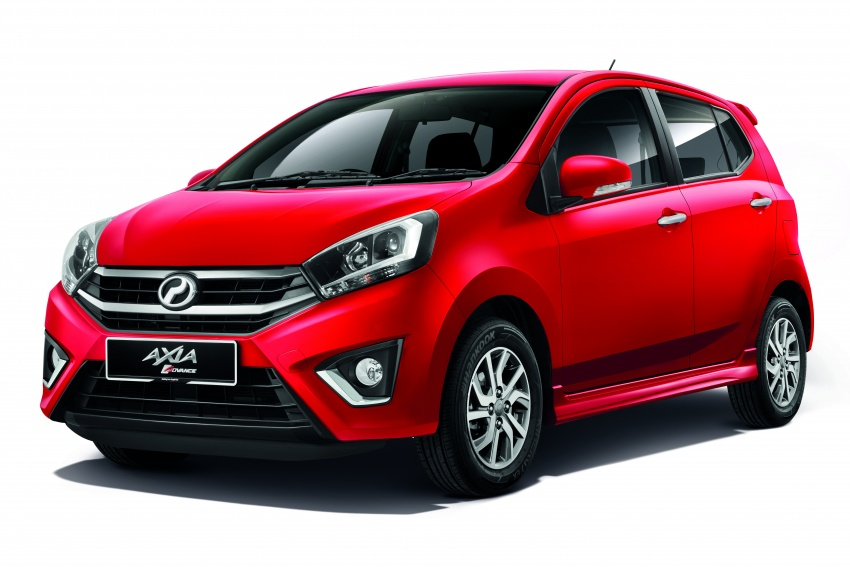 2017 Perodua Axia facelift officially launched – 1.0L VVT-i engine, two new faces and features, from RM25k Image #606678