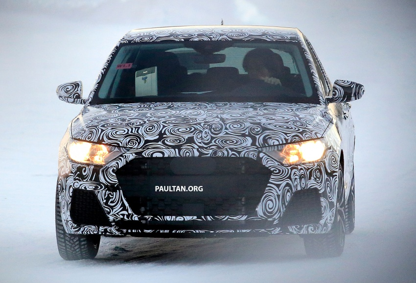 SPYSHOTS: Next-generation Audi A1 spotted testing Image #597472
