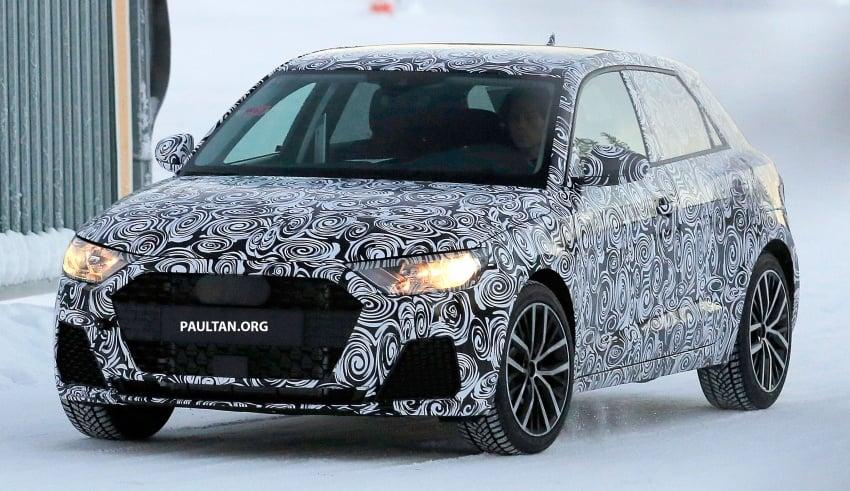 SPYSHOTS: Next-generation Audi A1 spotted testing Image #597473