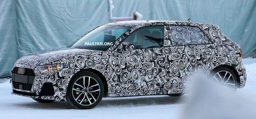 SPYSHOTS: Next-generation Audi A1 spotted testing Image #597476
