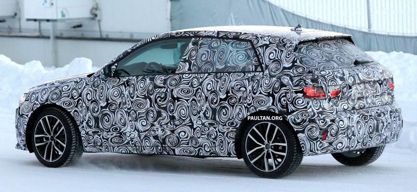 SPYSHOTS: Next-generation Audi A1 spotted testing Image #597480