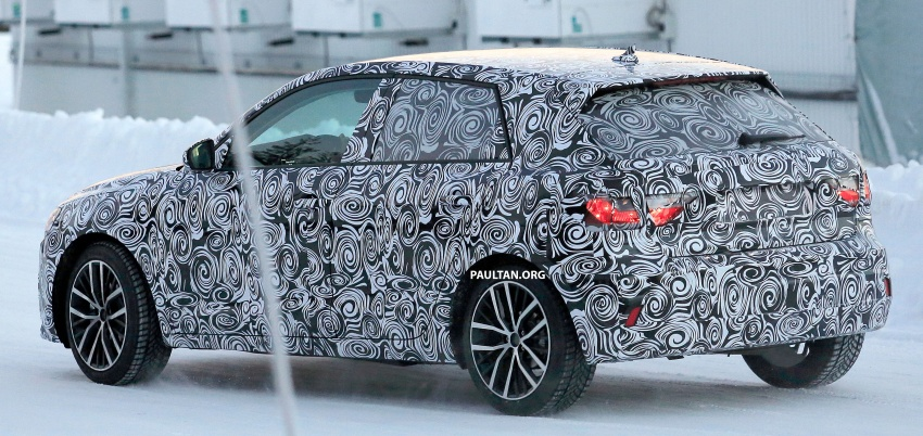 SPYSHOTS: Next-generation Audi A1 spotted testing Image #597481