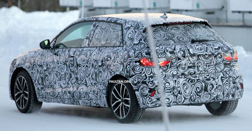 SPYSHOTS: Next-generation Audi A1 spotted testing Image #597482