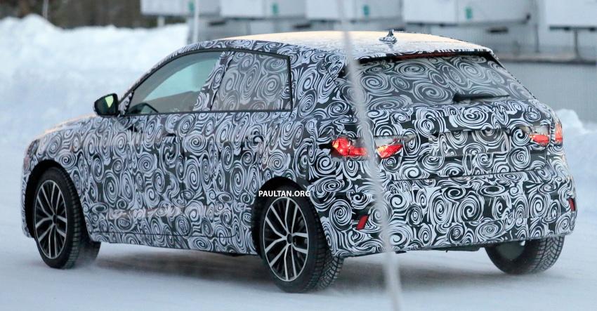 SPYSHOTS: Next-generation Audi A1 spotted testing Image #597482