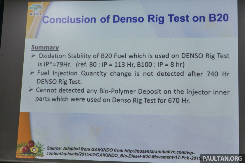 B10 biodiesel in Malaysia – separating fact from fiction Image #609193