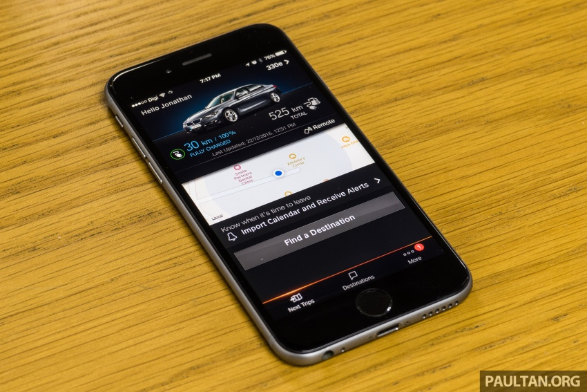 DRIVEN: BMW 330e – it's the future, but with a catch Image #599902