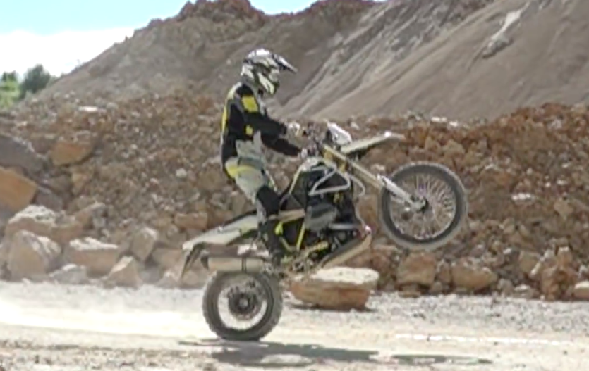 BMW Motorrad and Touratech build R1200 GS Rambler Image #601142