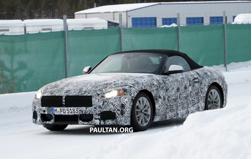 SPYSHOTS: BMW Z5 spotted again, taillights shown Image #608411