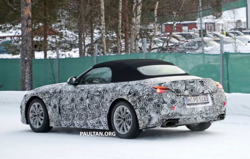 SPYSHOTS: BMW Z5 spotted again, taillights shown Image #608422