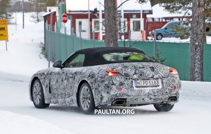 SPYSHOTS: BMW Z5 spotted again, taillights shown Image #608424