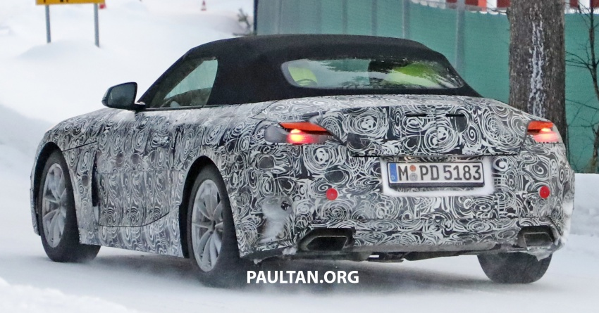 SPYSHOTS: BMW Z5 spotted again, taillights shown Image #608425