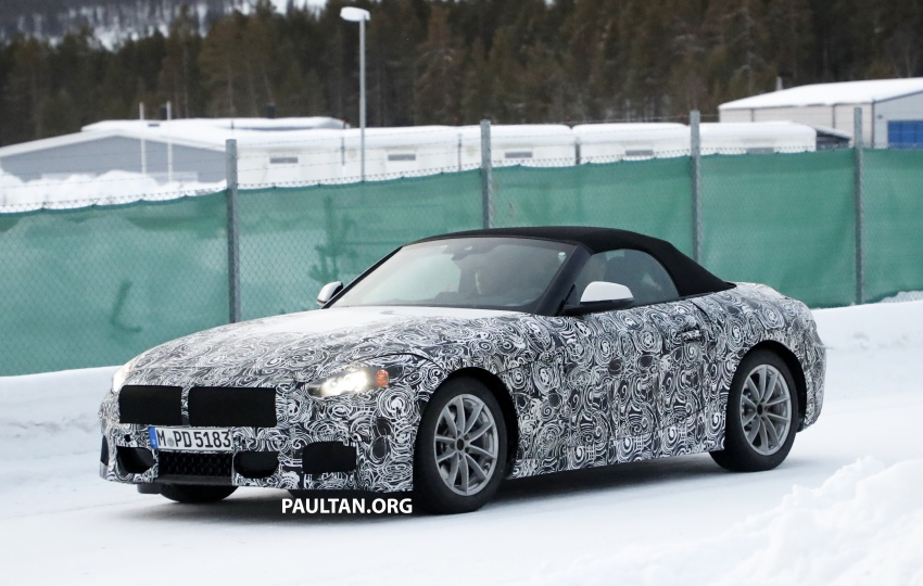 SPYSHOTS: BMW Z5 spotted again, taillights shown Image #608413