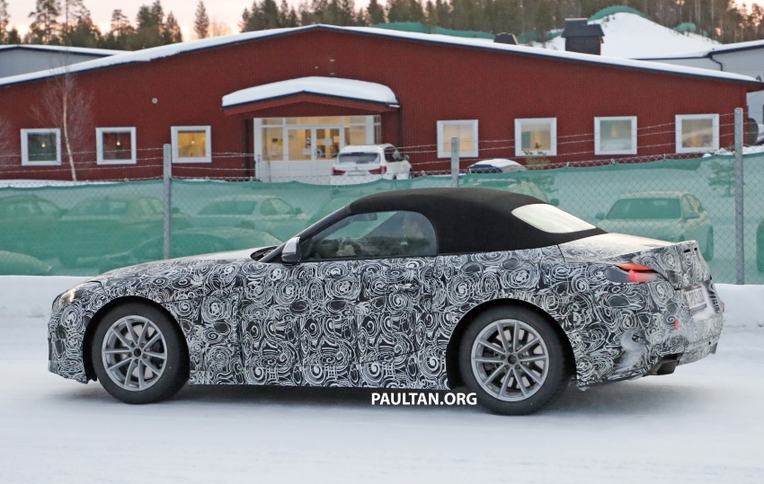 SPYSHOTS: BMW Z5 spotted again, taillights shown Image #608419