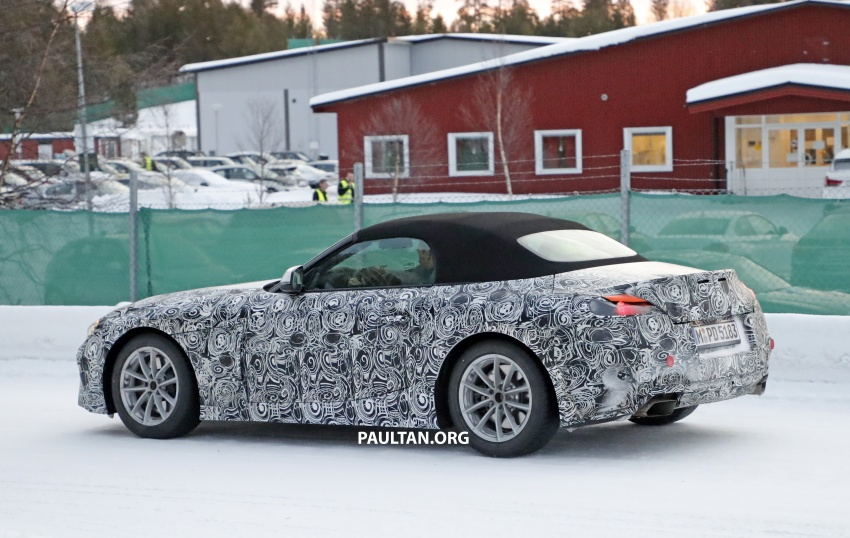 SPYSHOTS: BMW Z5 spotted again, taillights shown Image #608420