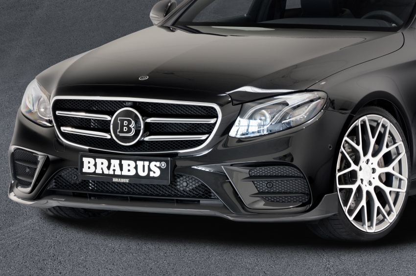 brabus bodykit tuning for the w213 mercedes e class image. Black Bedroom Furniture Sets. Home Design Ideas