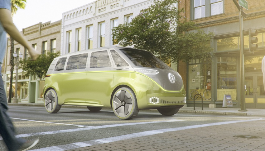 Volkswagen I.D. Buzz EV concept – modern Microbus Image #600122