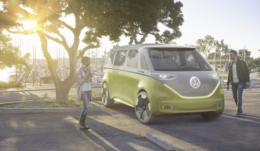 Volkswagen I.D. Buzz EV concept – modern Microbus Image #600124