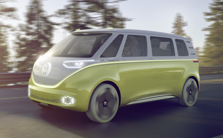 Volkswagen I.D. Buzz EV concept – modern Microbus Image #600125