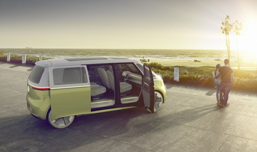 Volkswagen I.D. Buzz EV concept – modern Microbus Image #600133