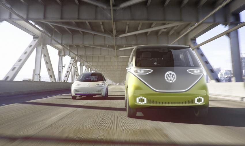 Volkswagen I.D. Buzz EV concept – modern Microbus Image #600141