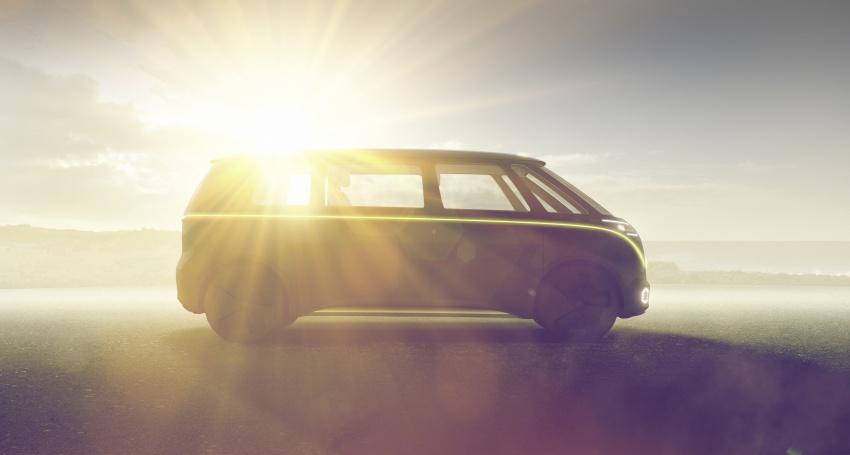 Volkswagen I.D Buzz Concept – jelmaan semula 'Kombi Van' dengan janakuasa elektrik sepenuhnya Image #600563