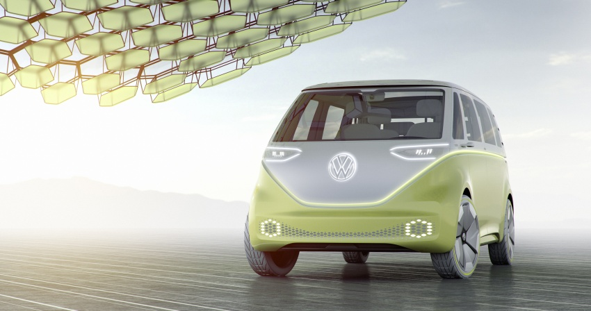 Volkswagen I.D. Buzz EV concept – modern Microbus Image #600145