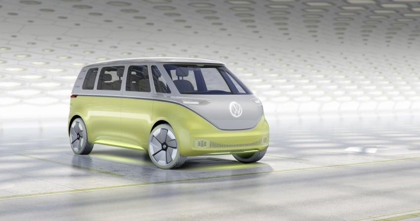 Volkswagen I.D. Buzz EV concept – modern Microbus Image #600146
