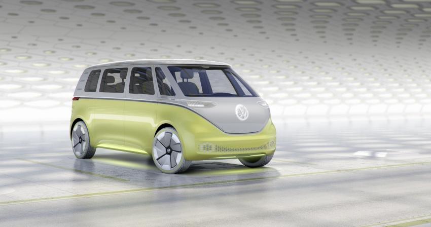 Volkswagen I.D Buzz Concept – jelmaan semula 'Kombi Van' dengan janakuasa elektrik sepenuhnya Image #600561