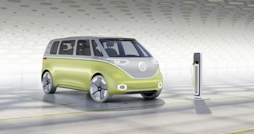 Volkswagen I.D. Buzz EV concept – modern Microbus Image #600148