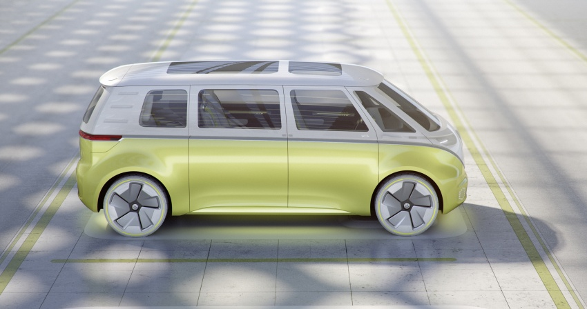 Volkswagen I.D. Buzz EV concept – modern Microbus Image #600151