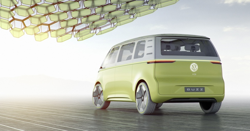 Volkswagen I.D Buzz Concept – jelmaan semula 'Kombi Van' dengan janakuasa elektrik sepenuhnya Image #600558