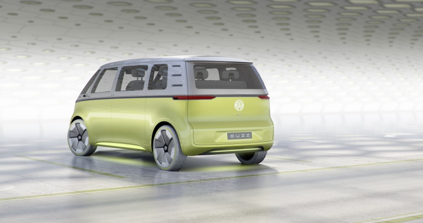 Volkswagen I.D. Buzz EV concept – modern Microbus Image #600155