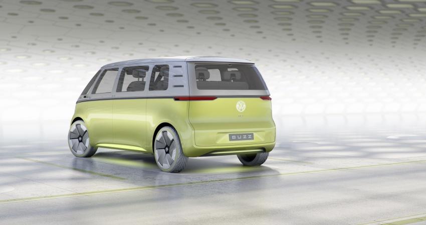 Volkswagen I.D Buzz Concept – jelmaan semula 'Kombi Van' dengan janakuasa elektrik sepenuhnya Image #600557
