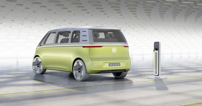 Volkswagen I.D. Buzz EV concept – modern Microbus Image #600156