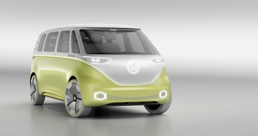 Volkswagen I.D. Buzz EV concept – modern Microbus Image #600158