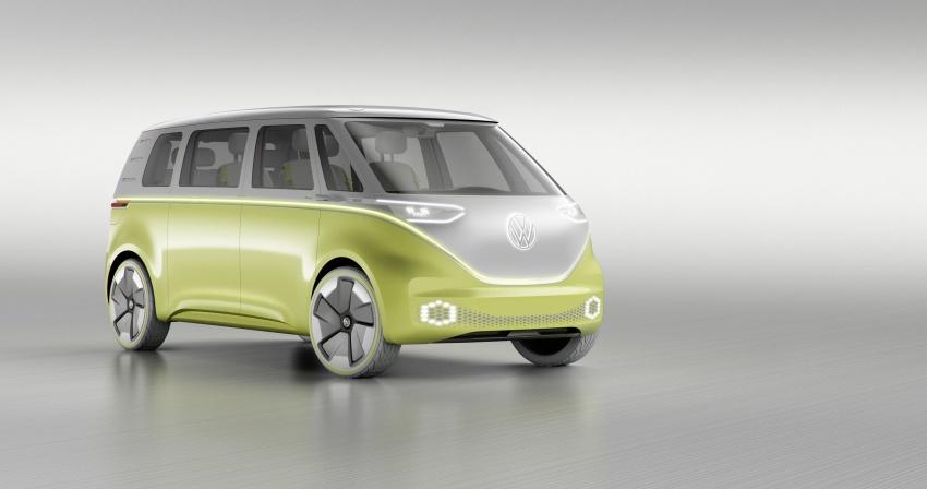 Volkswagen I.D. Buzz EV concept – modern Microbus Image #600160