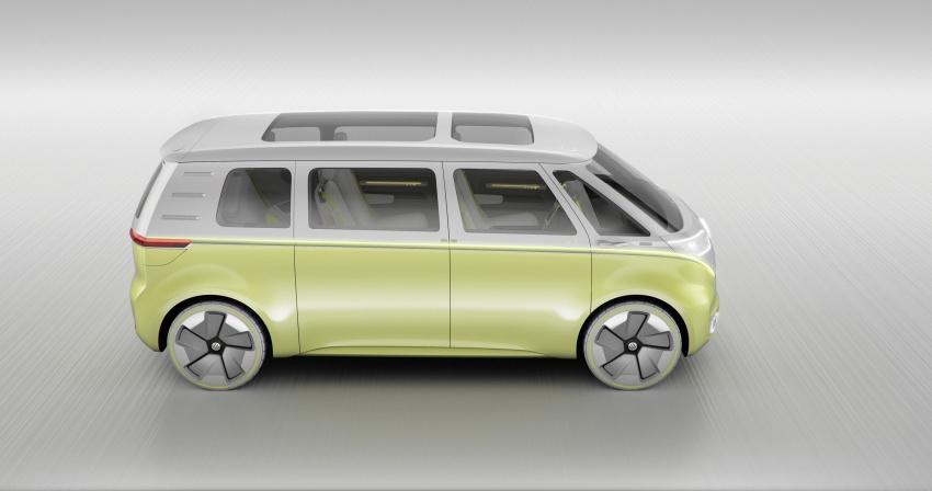 Volkswagen I.D. Buzz EV concept – modern Microbus Image #600161