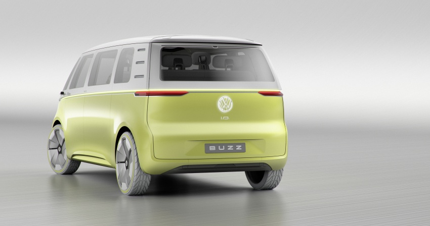 Volkswagen I.D. Buzz EV concept – modern Microbus Image #600162