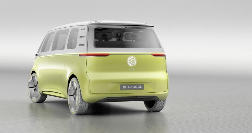 Volkswagen I.D Buzz Concept – jelmaan semula 'Kombi Van' dengan janakuasa elektrik sepenuhnya Image #600551