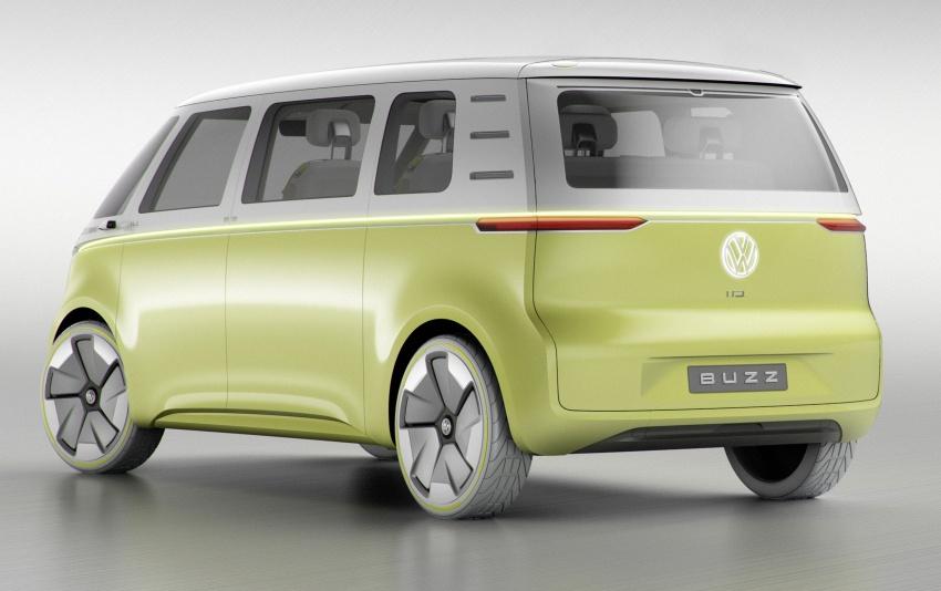 Volkswagen I.D Buzz Concept – jelmaan semula 'Kombi Van' dengan janakuasa elektrik sepenuhnya Image #600550