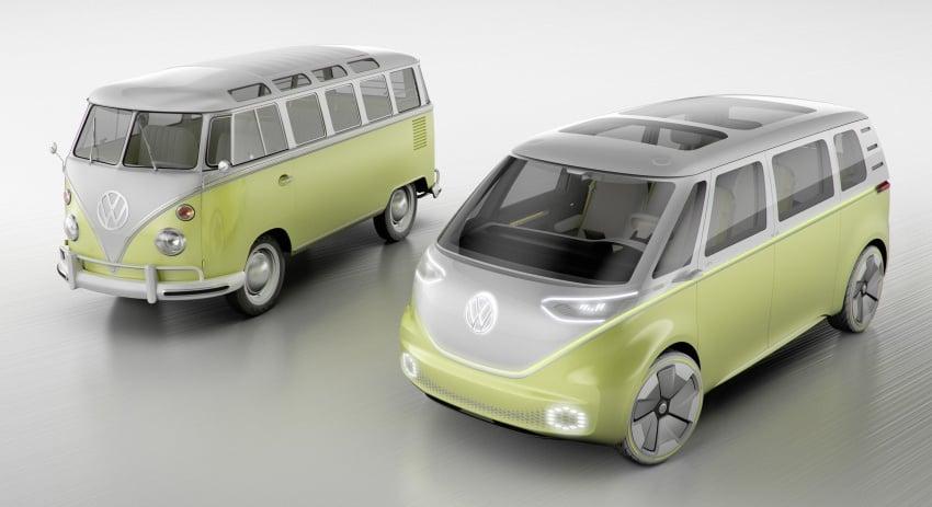 Volkswagen I.D. Buzz EV concept – modern Microbus Image #600164
